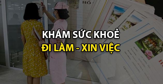 kham suc khoe di hoc di lam xin viec tai tphcm