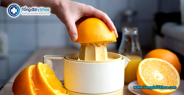 tac hai cua nuoc cam harmful effects of orange juice