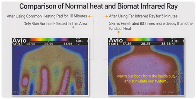 amethyst biomat vs heating pad
