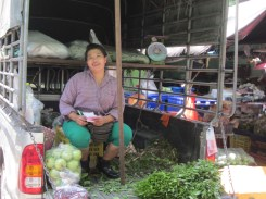 In the flower market