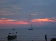 Sunset in Railay