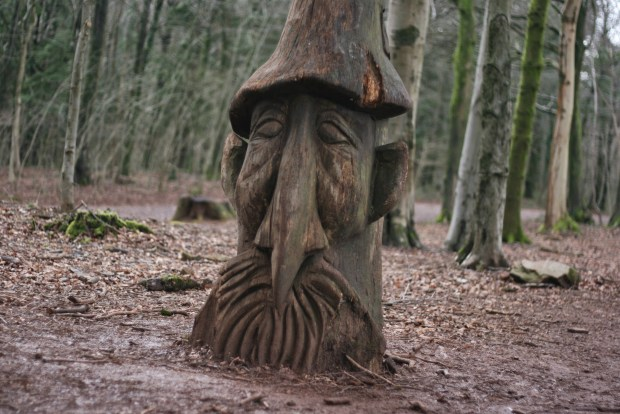 Sculpture trail elf