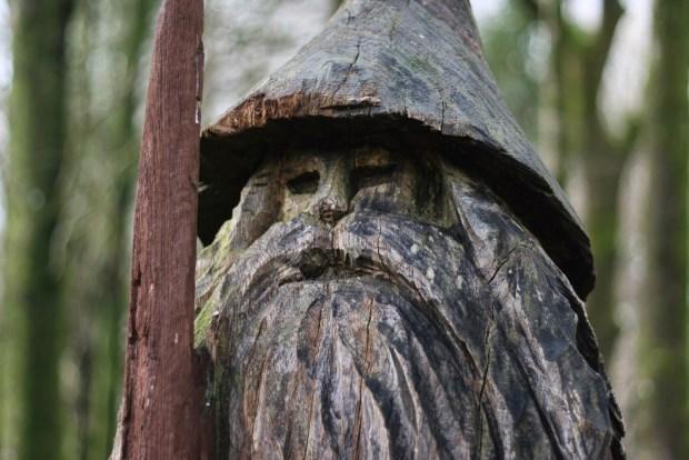 Sculpture trail wizard