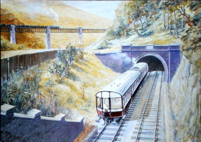 Cardiff Railway postcard 1911