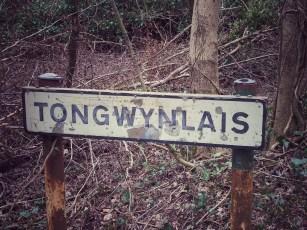 Tongwynlais sign