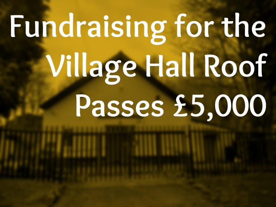 Fundraising for village hall passes £5,000 header