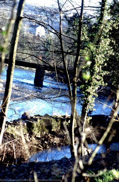 X Forge Dyke & Railway Bridge, 14/01/2001