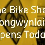 Bike Shed opening header