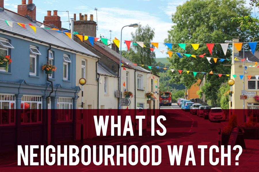What is neighbourhood watch header