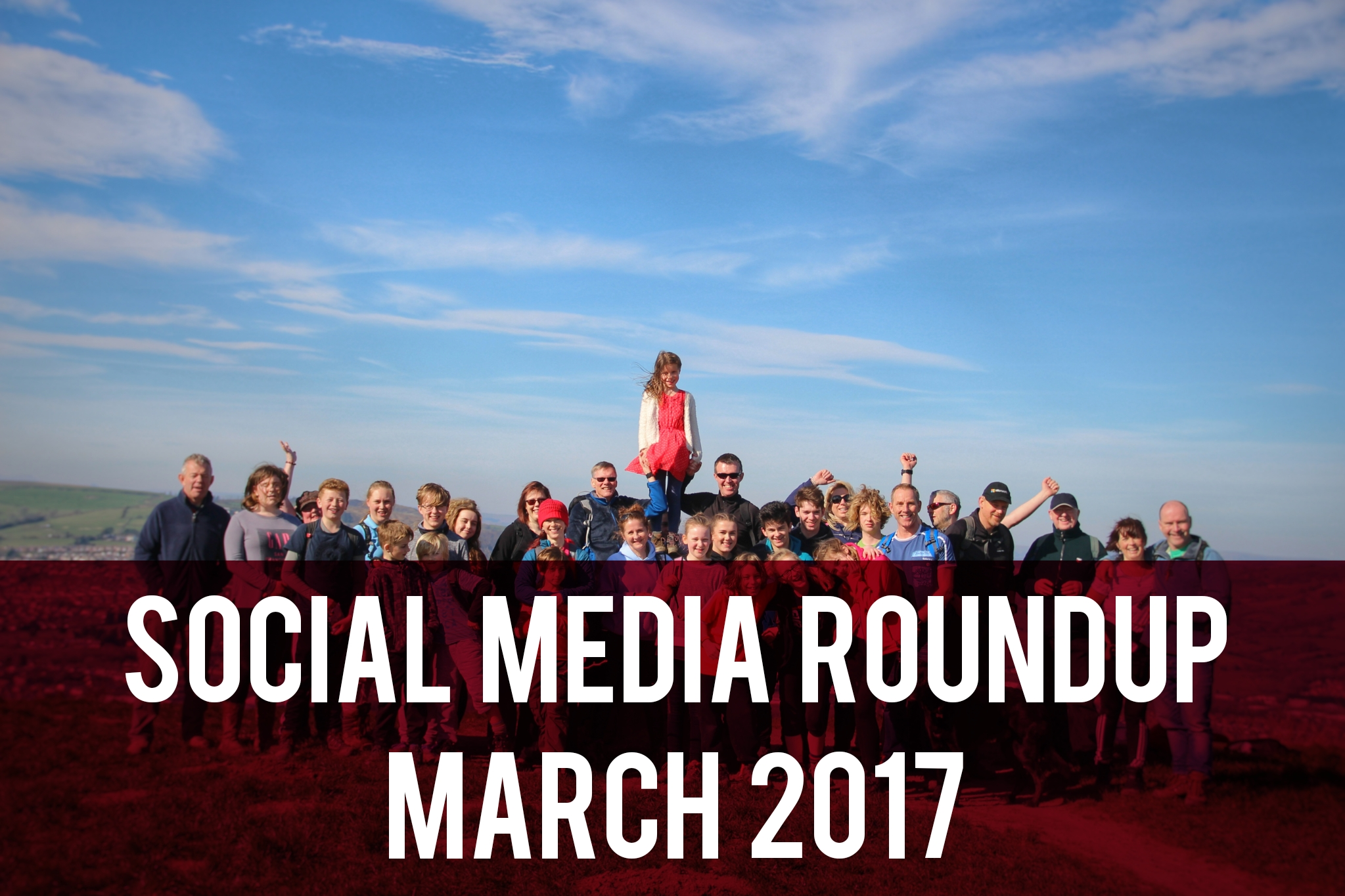 Social Media Roundup - March 2017 header
