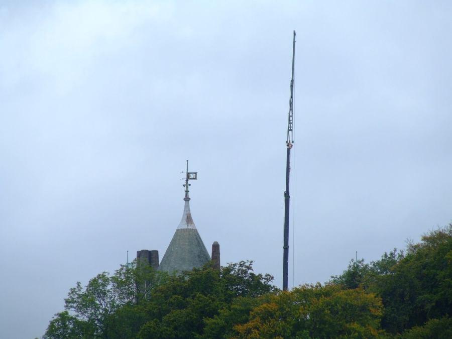 Castell Coch in September 2006