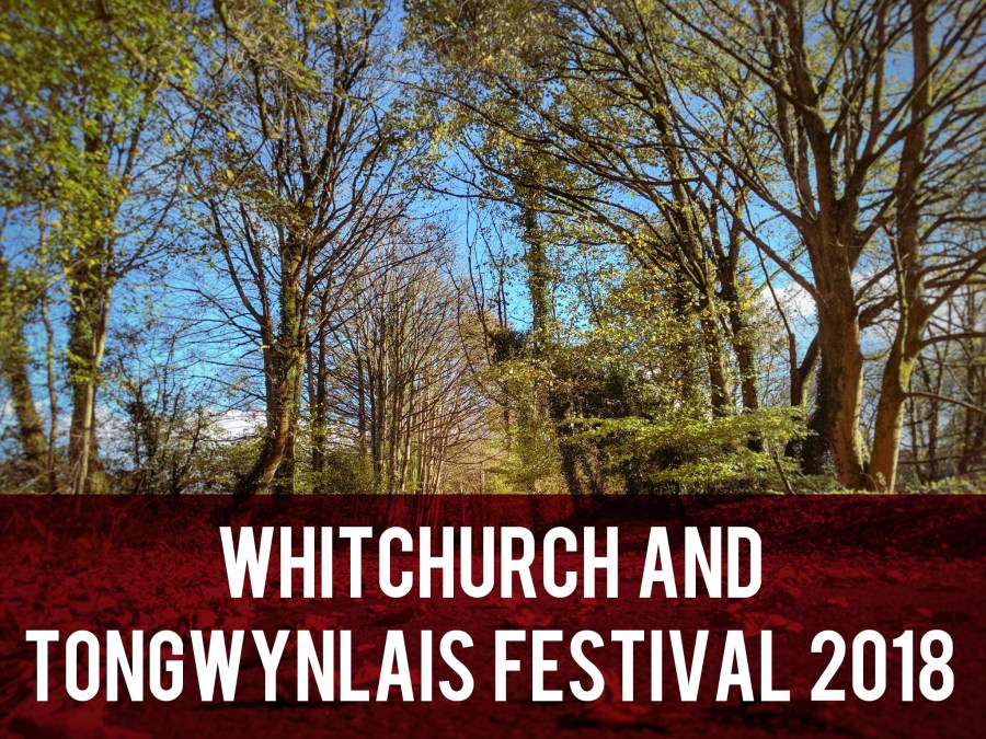 Whitchurch and Tongwynlais Festival 2018 header