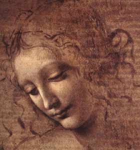 young woman, da Vinci