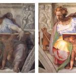 Michelangelo's disintegrating frescoes
