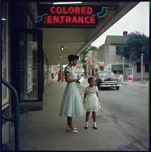 Movie Theater, Mobile Alabama 1956, Gordon Parks