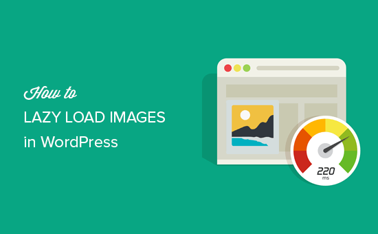 Lazy load images in WordPress
