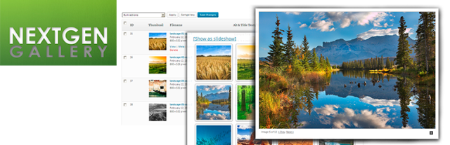 NextGEN Gallery – WordPress Gallery Plugin