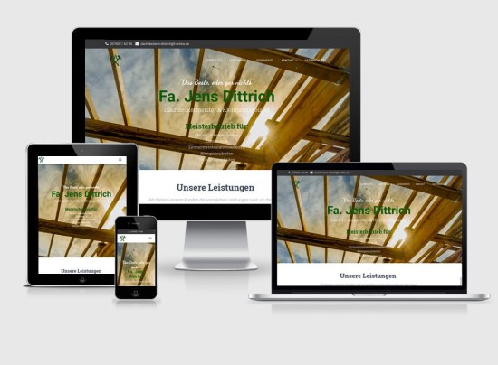 Webseite   Meisterei Jens Dittrich