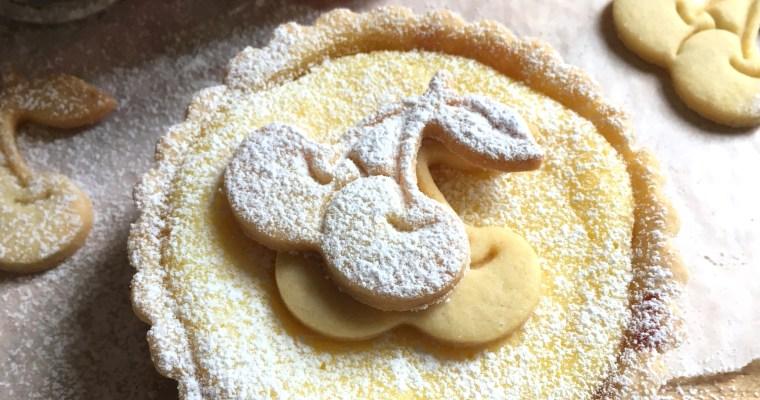 Crostata di Ricotta e Visciole – Ricotta & Sour Cherry Tart