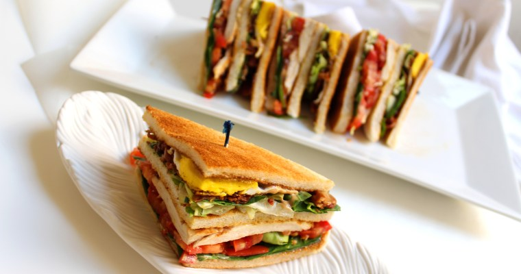 Grilled Chicken Club Sandwich