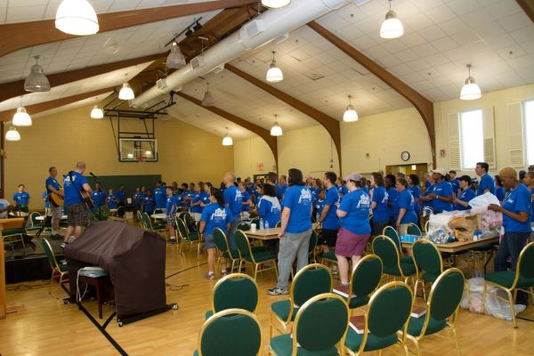 Central Cares Day worship