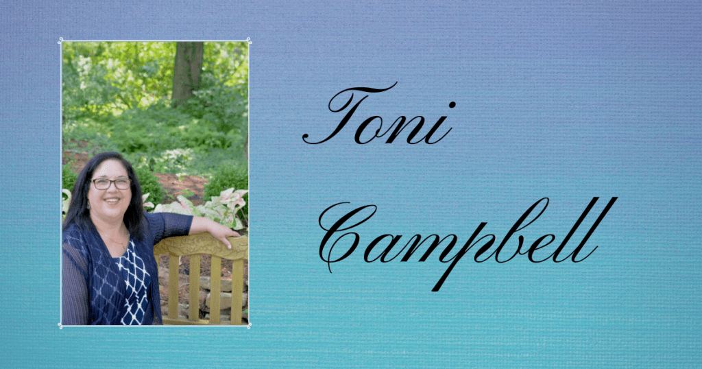Toni Campbell - Author and Church Outreach Leader