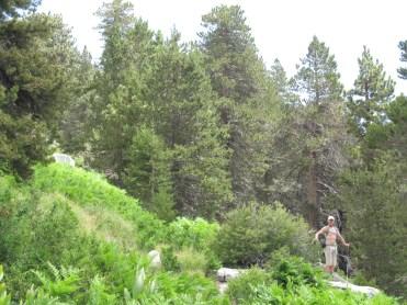 Gordon at the Wellman Cienega portion of the trail