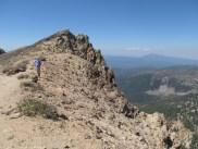 Gordon on the summit