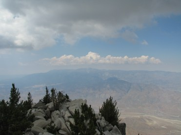 View of San Gorgonio where we hiked the previous weekend