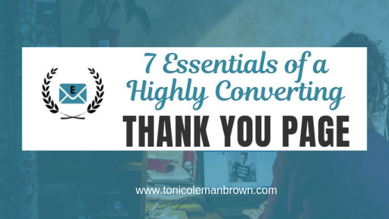 7 Essentials of a Highly Converting Thank You Page