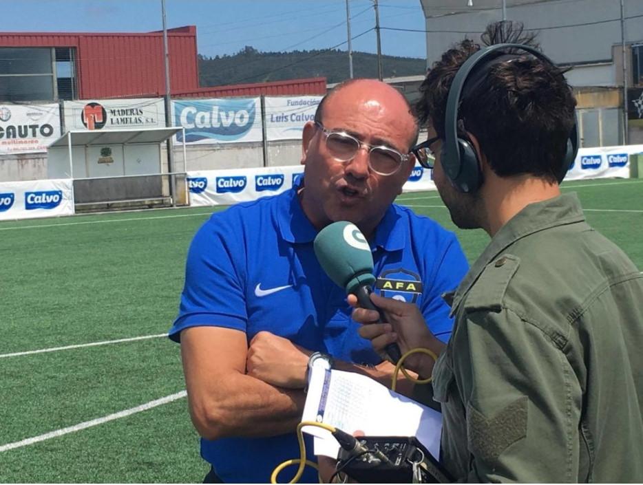 Toni Cortés, Director Deportivo de AFA Angola