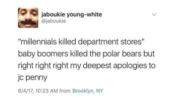 millennials vs baby-boomers meme