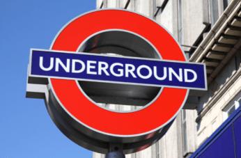 Frank Pick, Edward Johnston, London Underground Roundel, 1917