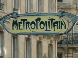 Hector Guimard, 'Paris Metro' Entrance sign, 1990