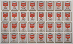32 Campbell's Soup Cans, Andy Warhol, 1962