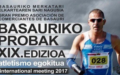 Toni Franco participará en el Meeting Internacional XIX BASAURIKO PROBAK 2017