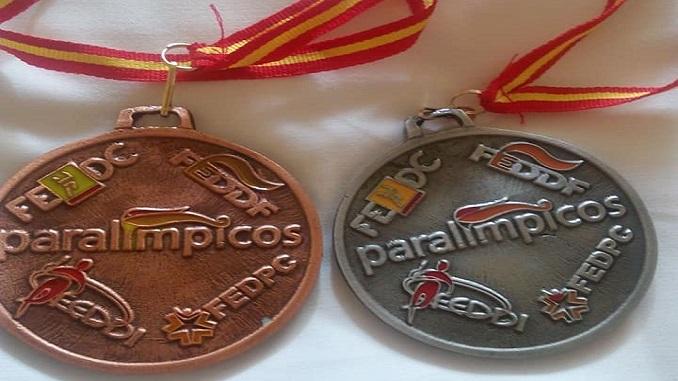 Toni Franco Salas Medallas de Plata y Bronce