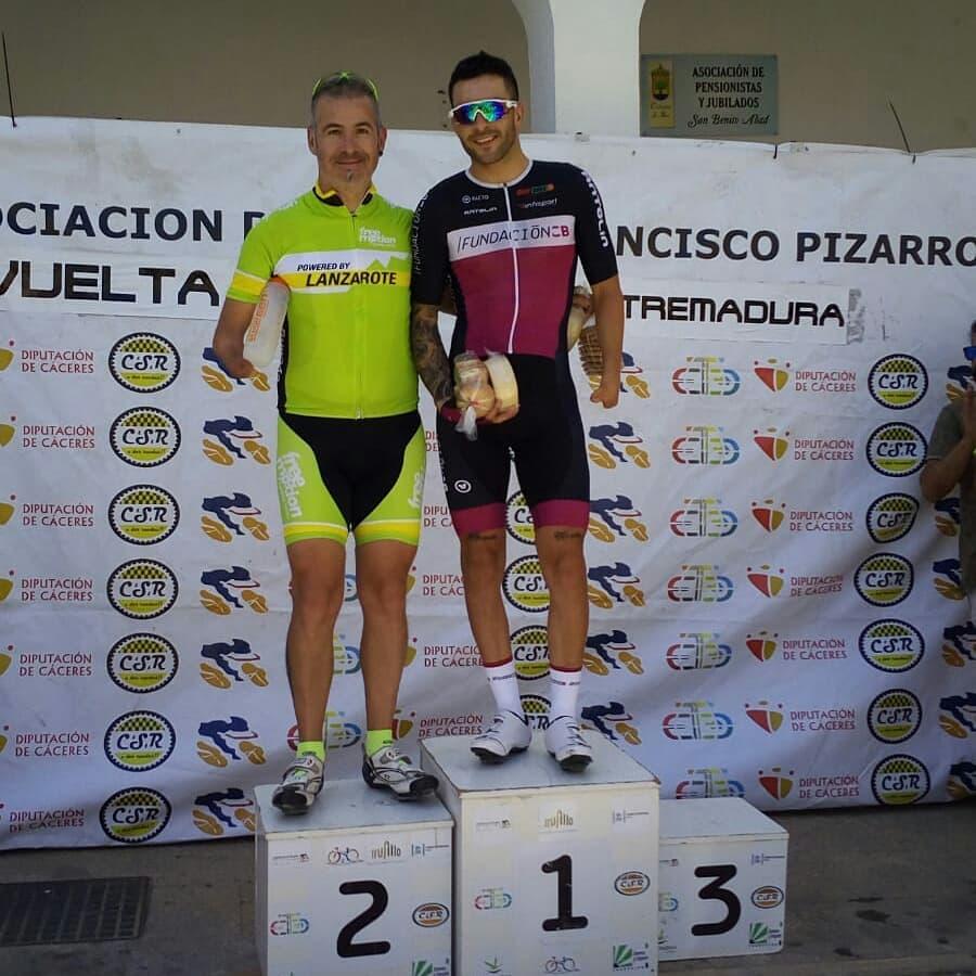Subcampeón de Extremadura de Ciclismo Adaptado MC5