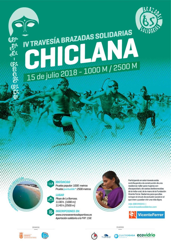 IV Travesía Brazadas Solidarias Chiclana
