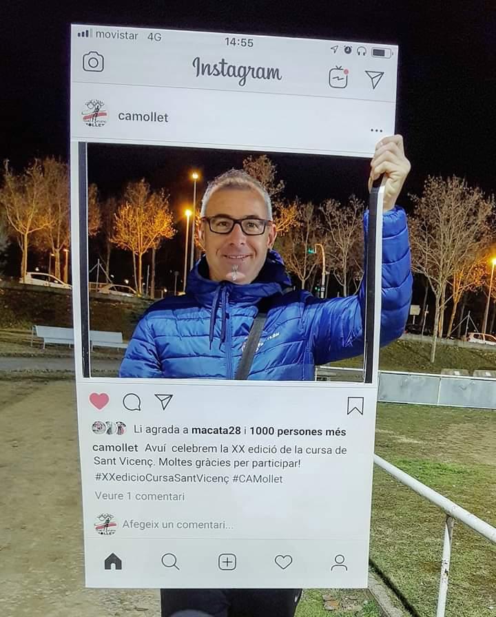 XX Carrera popular Sant Vicenç 2019 de Mollet