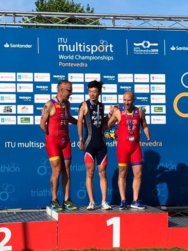 Toni Franco Subcampeón del Mundo de Acuatlón 2019 ITU Pontevedra Multisport World (14)