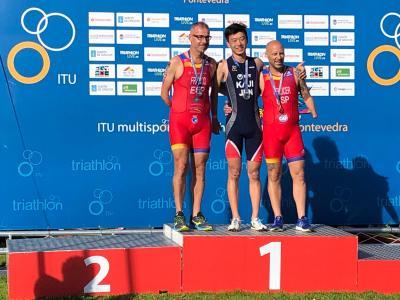 Toni Franco Subcampeón del Mundo de Acuatlón 2019 ITU Pontevedra Multisport World (16)
