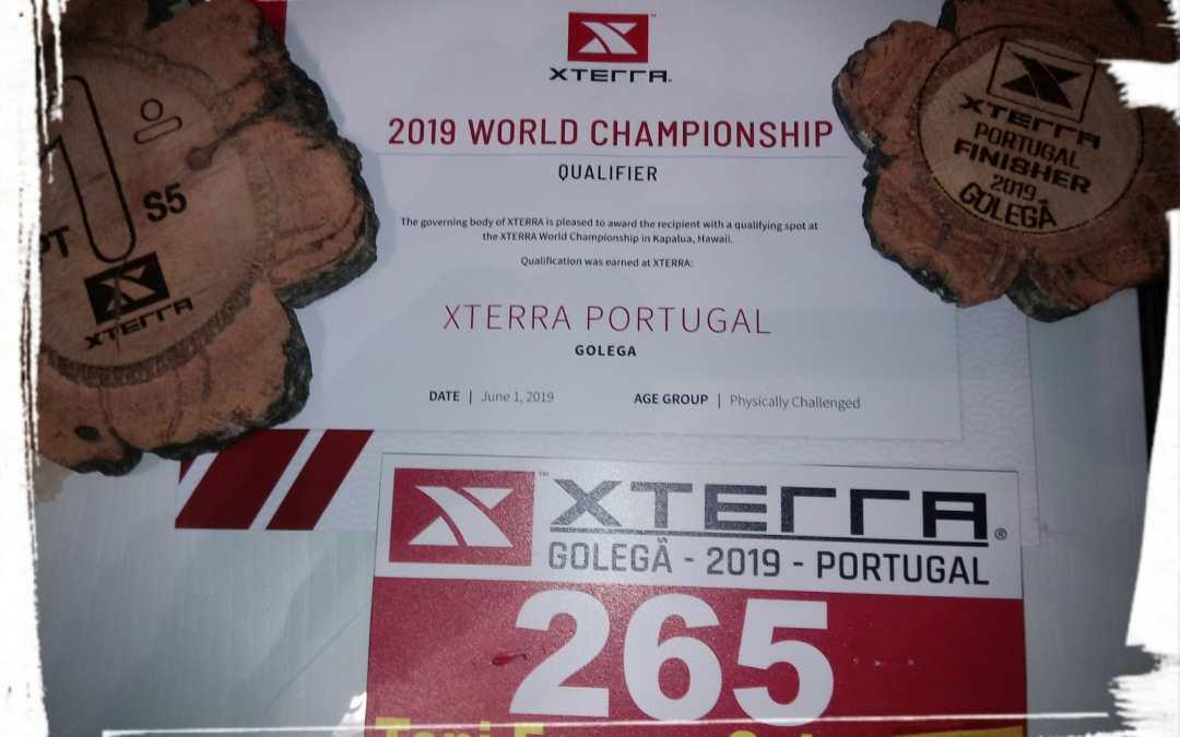 Clasificado para el Campeonato del Mundo X-terra Maui (Hawai)