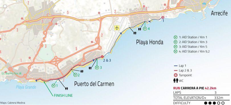Maratón Ironman Lanzarote 2021