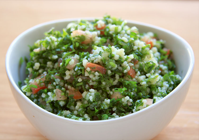 Healthy Lebanese Tebbouleh Salad Recipe