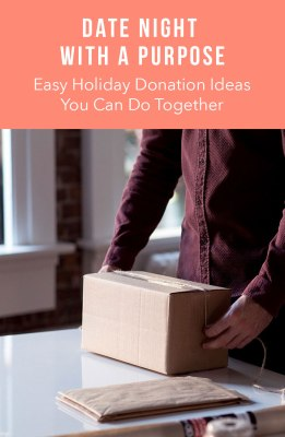 Holiday donation ideas you can do together
