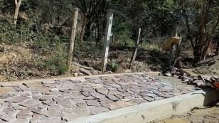 Construction near Mazunte
