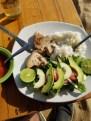 Late lunch on Playa Zipolite