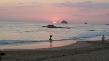 Sunset on Playa Zipolite