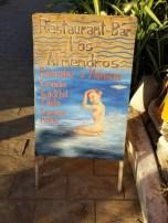 In front of Los Almandros